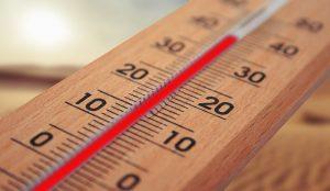 povišana telesna temperatura